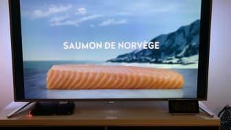 Laksekampanje på fransk TV