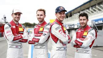 Audi tar hem alla tre DTM-titlarna. Mattias Ekström i ledning inför söndagens finalrace.