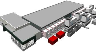 Green Mountain Data Centre DC3-Oslo sketch 3