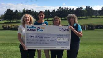Crosland Heath Golf Club tees off for the Stroke Association