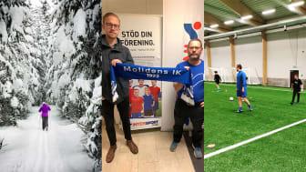 Fokus på det lokala i nytt samarbete mellan Moliden IK och Intersport
