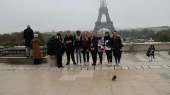 Entreprenöriellt lärande tog elever till Paris!