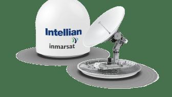 The Intellian GX100NX antenna