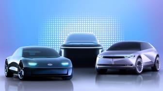 Hyundais dedikerte undermerke for elbiler, IONIQ. Foto: Hyundai