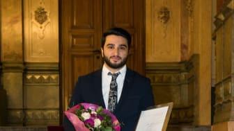 Årets Unga Entreprenör Syd Abtin Janinejad, grundare av Entowork.