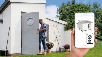 Planera din friggebod med AR och DIY-beskrivning