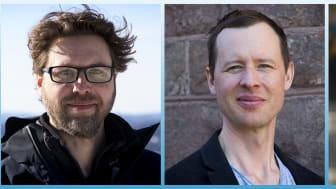 Från vänster Per Hagdahl - Jon Karlsson - Kristina Hedlund