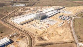 JYSK er netop nu i gang med at opføre virksomhedens niende distributionscenter i Ungarn.