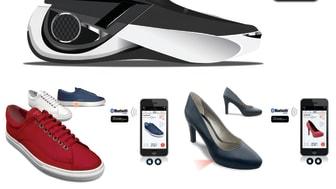 Världens första intelligenta skor presenterades på 2016 års CES-mässa