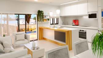 HusmanHagberg har exklusiv rättighet att sälja bostäderna i Edificio Escandinavia nära Playa del Curastranden i Torrevieja.