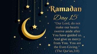 Dua eCard for day 15 of Ramadan