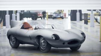 Jaguar bygger 62 år gammel bil - igen