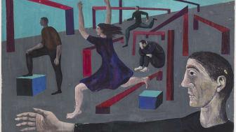 Utan titel, Peter Weiss, 1955