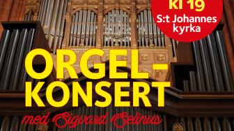 Orgelkonsert med Sigvard Selinus