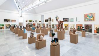 Lorck Schive Kunstpris 2021: Steinar Haga Kristensen.