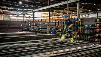 Stigande stålpriser får stort fokus i BE Groups monter