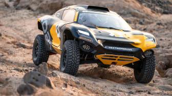 Continentals specialdäck CrossContact och racerbilen E-racing ODYSSEY 21