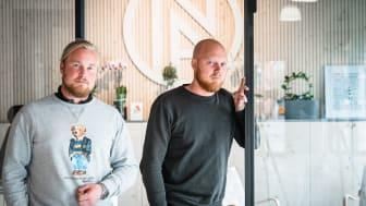 Rasmus och Niklas Svensson, ägare till NA Altanglas, satsar stort i Malmö