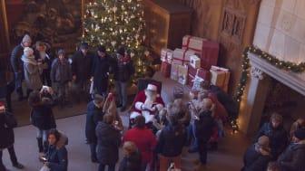 Besöksrekord på julmarknaden