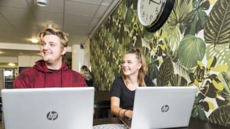 Thoren Business School Umeå växer och uppvisar dubbelt så många förstahandssökande när preliminär gymnasievalet stängdes förra veckan.