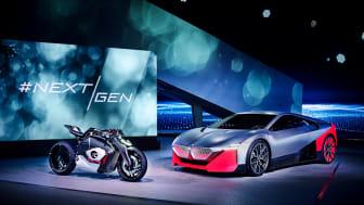 BMW Motorrad Vision DC Roadster og BMW Vision M NEXT