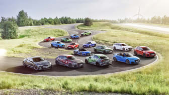Audi Sport produktportefølje