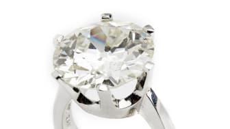 Jan Stockmarr diamond solitaire ring