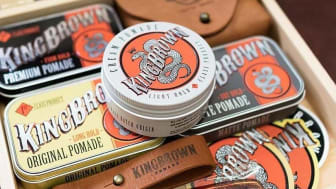 King Brown Pomade från Australien lanseras i Sverige