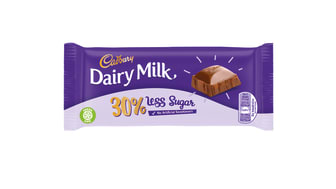 Cadbury Dairy Milk will be available in a new bar with 30% less sugar, offering consumers greater choice and helping them to manage their sugar intake.