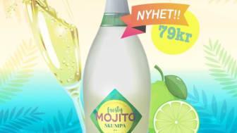 Lively Wines Sweden är stolta över att presentera den ny Skumpa-smaken Frosty Mojito!