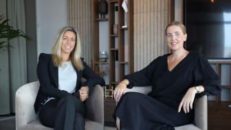 Anna Lantz och Lotta Berlin, Sigma Technology Digital Solutions. Foto: Anna-Karin Hulth.