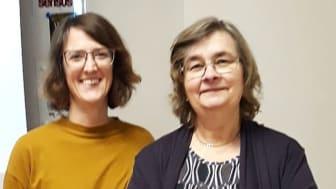 Uppsaladuon Hanna Malmström (Clicko) och Astrid Frylmark (OrdAF) inspirerar och fortbildar landets förskolepersonal.