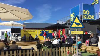 Så här såg det ut när BoKlok var på plats under Almedalsveckan 2017