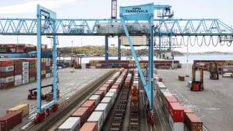 Ett nytt direkttåg mellan Gävle-Göteborg säkrar logistikflödena för Gävleregionens näringsliv.