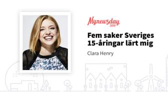 Clara Henry - Youtuber, influencer, programledare