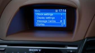 Nye Fiesta først ut i Europa med sikkerhetsteknologien MyKey