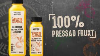 Herrljunga Musteri utökar sortimentet med kallpressad juice