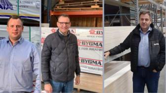 4 nye direktører, Bygma dec 2020