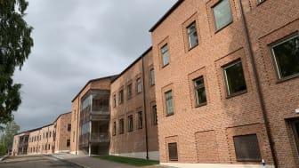 Askersunds kommuns nya vård- och omsorgsboende Smedsgården, där inflyttning skett de senaste veckorna.