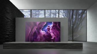 Para disfrutar de contenidos con negros profundos y un contraste perfecto, se recomiendan modelos OLED de grandes pulgadas, como el nuevo televisor MASTER Series OLED A8 4K HDR