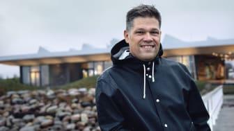 Johan Glennmo, VD på Danir, vid Marint Kunskapscenter i Malmö.