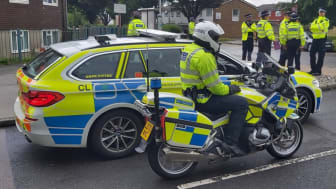 More than 150 officers took part in the operation