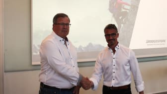Bridgestone Sweden fortsätter att expandera. Lars Bergmark ny i teamet.