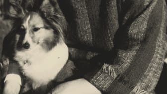 Anna Rydstedt med hunden Jeppe