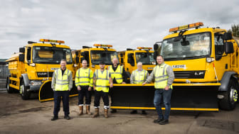 Our winter service team swing into action