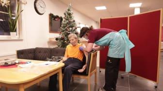 Lennart Gustafsson första värmlänningen att vaccineras mot covid-19