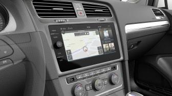 Infotainmentsystem med berøringsfri betjening på vej til Golf