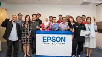 Indonesia Raih Kemenangan dalam Epson Regional App Challenge