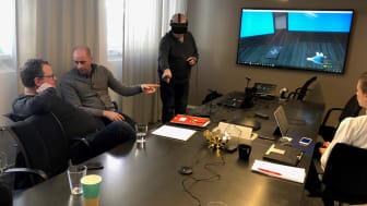 SSG testar virtual reality-teknik på en kurs inom elsäkerhet. Förhoppningen är att lansera under hösten.