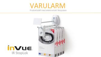 Produktställ med elektroniskt låssystem